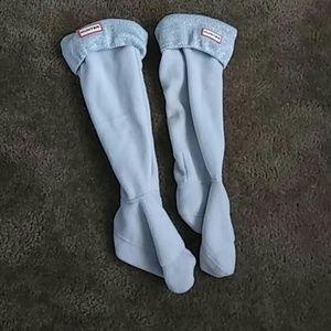 Hunter boots socks